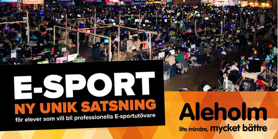 E-sport gymnasium i Sverige